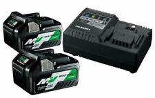 Hikoki Hitachi Booster Pack Multi Volt UC18YSL3WEZ, 2 Akkus 36V/2,5Ah, Ladegerät