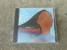 WALT DISNEY-POCAHONTAS-OST-ALAN MENKEN-CD-VANESSA WILLIAMS-SIGNED-AUTOGRAPHED-NM