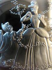 1 OZ.999 SILVER VERY RARE DETAILED CINDERELLA DISNEY MASTERPIECES # PROOF COIN