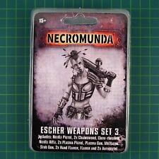 Escher Weapons Set 3 Necromunda Underhive Forge World 11004