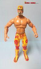 WWE Jakks HULK HOGAN DELUXE Titan Tron Wrestling Figure - Rare VTG WCW NWO 2000