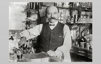 Vintage Bar Saloon PHOTO Tavern Bartender Beer Liquor Bourbon Whiskey Bottles