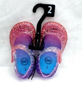 Wonder Nation JELLY CASUAL Shoe - Size 2 infant