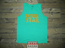 FOURSTAR CLOTHING CO | TANK TOP NEU FARBE:GREEN HEATHER GR:L 4 STAR x ANTI-HERO