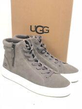 Ugg Australia Para Mujer Zapatos Tenis Olli Alta Top Mole ante gris 1105370