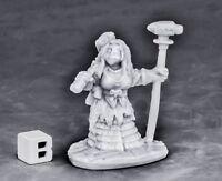 1x DWARF FORGE PRIESTESS - BONES REAPER figurine miniature rpg jdr nain 77571