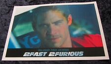 2fast 2furious Film Poster - Paul Walker Poster - 30.5x45.7cm