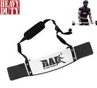 RAD Arm Blaster Biceps Isolator Bar Tricep Curl Bomber Gym Fitness Training