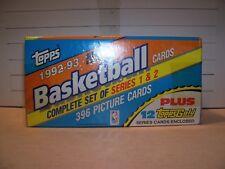 1992-93 TOPPS BASKETBALL SEALED SET SHAQUILLE O'NEAL RC M. JORDAN 1ST TOPPS CARD