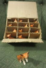 New Old Stock Relpo Japan Box Lot of 12 Animal Figurines.