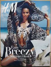 H&M catalog GISELE sexy Emily DiDonato Summer 2014 Cora Emmanuel swimsuits