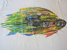 kawasaki rare vintage 1976 motorcycle tee shirt med rare