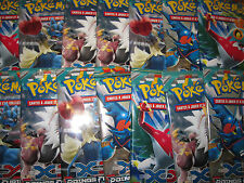 POKEMON ★ LOT 14 BOOSTER SCELLES 140 CARTES★ XY POINGS FURIEUX NON TRIES NEUFS