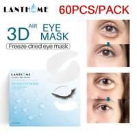 60Pcs Gel Eye Patches Collagen Pad Face Anti Aging Wrinkle Dark Circle