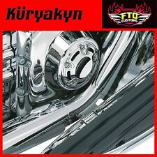 Kuryakyn Chrome Bridge The Gap Heat Shield 93-'08 Touring 9196