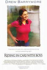RIDING IN CARS WITH BOYS Movie POSTER 27x40 Drew Barrymore Steve Zahn Brittany