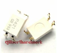 10*Photoelectric Coupling Tlp421 P421 Gb Transistor Output Dip-4 Pin Component