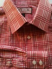 Check Machine Washable Formal Shirts Thomas Pink for Men