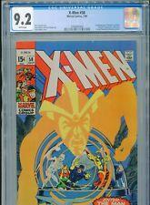 1969 MARVEL X-MEN #58 NEAL ADAMS 1ST APPEARANCE HAVOK IN COSTUME CGC 9.2 WHITE