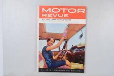 Motor Revue Europa Motor Ausgabe 31 Herbstausgabe 1959
