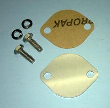 MerCruiser Bravo 1 2 3 Gimbal Block Off Plate Gasket Bolts Kit New Stainless