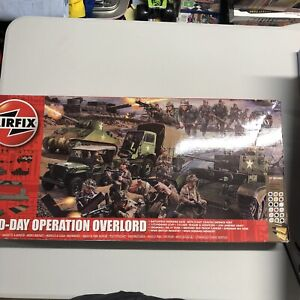 Airfix 1:76 D-Day Operation Overload Model Kit