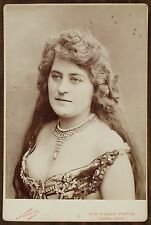 Mlle Derly, Actrice Théâtre, Cabinet Card, Photo Nadar Paris.