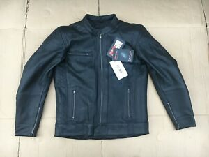 """RST Interstate 3 Classic Mens Leather Motorbike Jacket UK 39""""  40"""" chest  (H16)"""