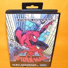 VINTAGE 1991 SEGA MEGA DRIVE GENESIS MARVEL SPIDER-MAN 16-BIT CARTRIDGE GAME