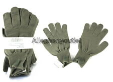 10 Pair Military ACU FOLIAGE / TAN FIELD WOOL GLOVES D3A LINERS MED LARGE NEW