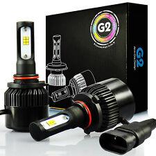 JDM ASTAR G2 8000LM 9005 HB3 Headlight Bulbs High/Low Beam Xenon White LED Lamps