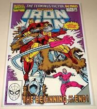 IRON MAN ANNUAL # 11  Marvel Comic  1990  VFN/NM   Terminus Factor