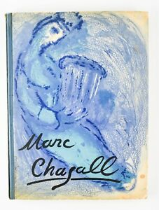 1956 Marc Chagall ILLUSTRATIONS FROM THE BIBLE, Verve  PH17