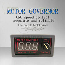 ZK-BMG DC 9-60V PWM Motor Speed Governor Controller Switch Digital Display 12A