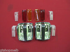 FORD FALCON FAIRMONT XY GS CHROME TAIL LIGHT HOUSING AND LENS COMPLETE KIT NEW