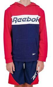 Reebok Boy's 3pc Set Hoodie/Shorts/Shirt Size 5/6