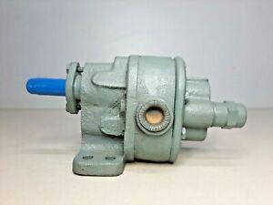 BSM- Brown & Sharpe No.2 Rotary Gear pump with relief valve- NEW SURPLUS