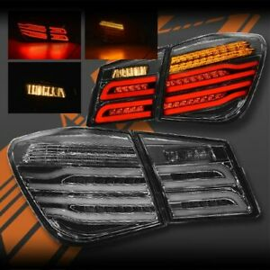 Smoked 3D Full LED Sequential indicator Tail Lights for Holden Cruze Sedan 09-16