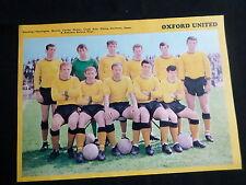 Oxford United Football Foto Del Equipo - 1 página-clipping/cutting
