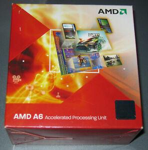 AMD A6-3500 3x 2,1GHz / 2,4GHz 3MB CACHE Sockel FM1 65 Watt AD3500OJZ33GX NEU