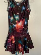 New ListingFigure Skating Dress, Space Pattern, Child M