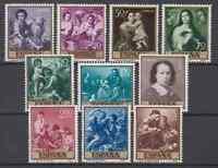 ESPAÑA (1960) NUEVO SIN FIJASELLOS MNH  MICHEL 1167/76 PINTURAS MURILLO