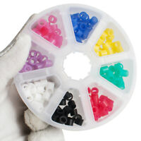 160Pc Dental Silicone Instrument Code Rings Autoclavable 135ºC 8 Color Hygienist