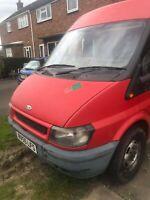 ford transit 2005 spares or repair