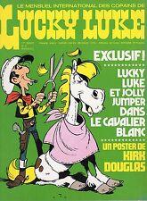 LUCKY LUKE NUMERO 8  SUPER  RARE ANNEE 1974 (SANS LE POSTER CENTRAL)