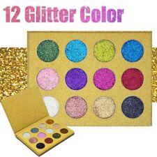 MakeUp 12 Colors Diamond Glitter Rainbow EyeShadow Beauty Eye Shadow Palette