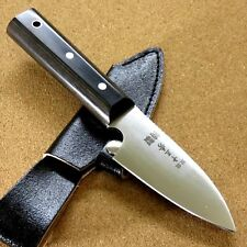 "Japanese Camping Knife 3.7"" Right handed Hunting Outdoor Survival Sheath JAPAN"
