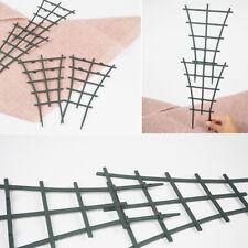2Pcs Plastic Superimposed Garden DIY Mini Climbing Trellis Flower Supports Court