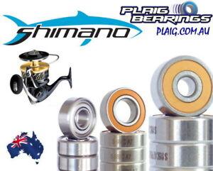 Fishing Reel Bearings to suit Shimano Reels Stainless Steel And Ceramic Hybrid