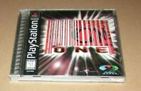 One (ASC Games 1997) for Playstation PS1 Complete Fast Shipping!